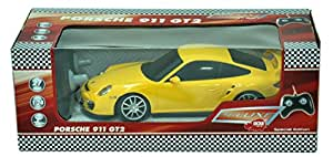 buy dickie rc porsche 911 gt2 1 24 yellow online at low prices in india. Black Bedroom Furniture Sets. Home Design Ideas