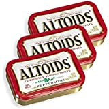 Altoids Curiously Strong Mints, Peppermint, 1.76-Ounce Tins (Pack of 6)