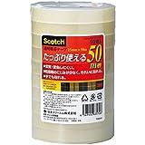 3M スコッチ 透明粘着テープ 15mm×50m 10巻 芯76mm 500-3-15-10P