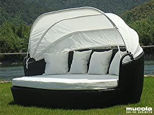 xxxl rattan sonneninsel 220cm strandkorb. Black Bedroom Furniture Sets. Home Design Ideas