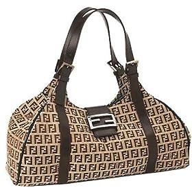 Fendi Handbag 8BR091 Zucchino Beige