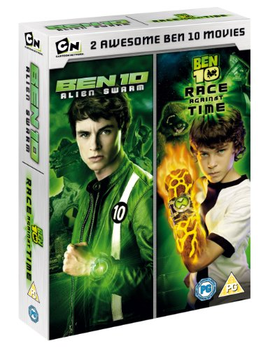 Ben 10 Alien Swarm /Race Against Time (Double Pack) [DVD]