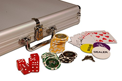 Pokerkoffer 1000 Pokerchips Trolley OCE...