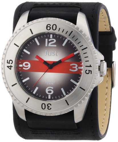Just Watches 48-S2812-BK-RD - Orologio uomo
