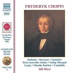 3 Nouvelles etudes, Op. posth.: III. Etude No. 27 in D flat major
