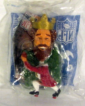 Burger King Playing Football NFL Toy
