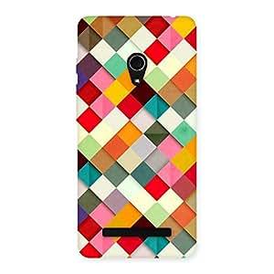 Impressive Color Ribbons Back Case Cover for Zenfone 5