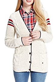 Angel Cable Knit Cardigan [T74-2457A-S]