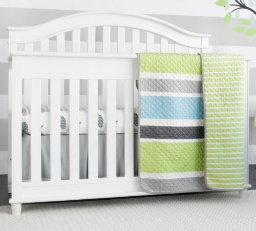 Grey And Green Bedding 9572 front
