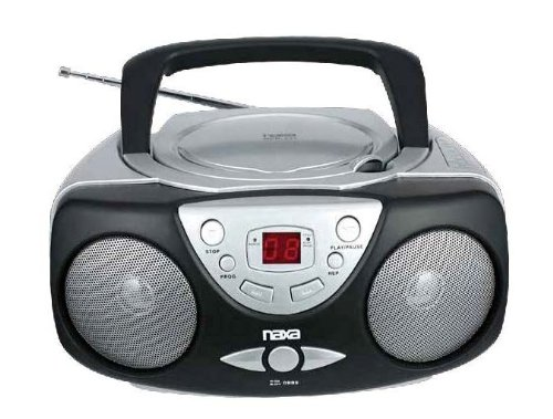 NAXA Electronics NPB-237 Portable CD Player with AM/FM Stereo Radio