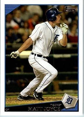 2009 Topps Baseball # 143 Matt Joyce Detroit Tigers - MLB Trading Card