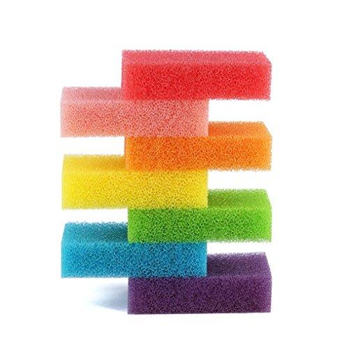 eponges-de-cuisine-hanseer-7-arc-en-ciel-colore-de-nettoyage-eponges-de-laveurs