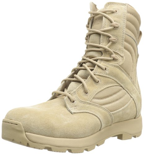 New Balance Tactical Men's Tab 8-Inch Lace Boot Work Boot,Tan,6 2E US
