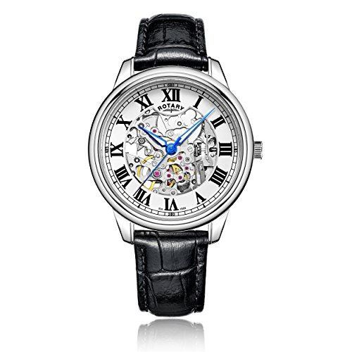 rotary-mens-automatic-watch-with-white-dial-analogue-display-and-black-leather-strap-gs00654-01