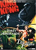 echange, troc Coffret Aventure - King Kong + La forêt d'émeraude + L'île aux pirates