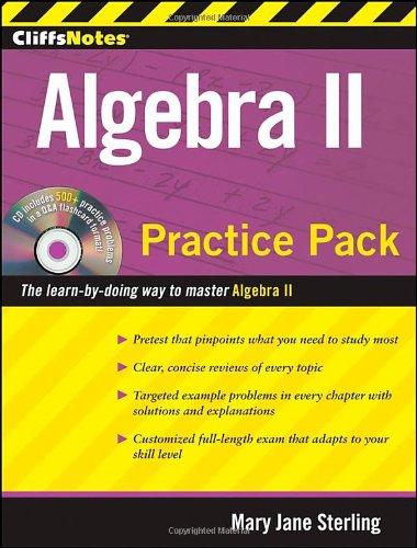 CliffsNotes Algebra II Practice Pack (Cliffnotes) PDF