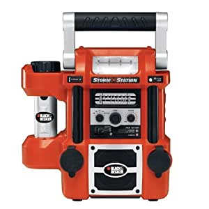 Black & Decker StormStation All-In-One Rechargeable Power Source/Radio/Light #SS925 (Discontinued by Manufacturer)