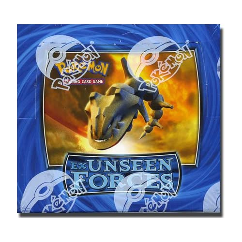 Amazon Com Pokemon Trading Card Game Ex Unseen Forces Booster Box