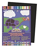 "SunWorks Construction Paper, 9""X12"", Black, 50 Sheets"