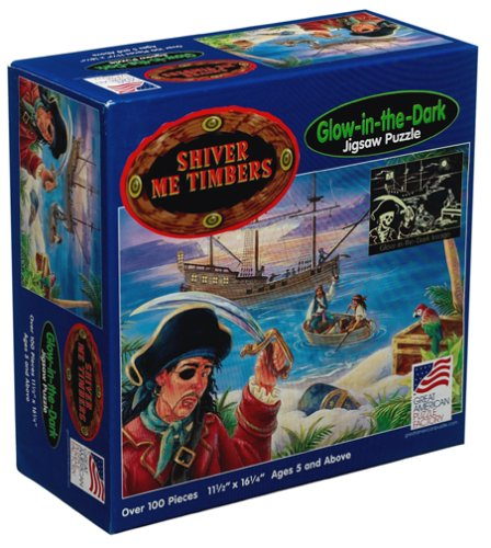Cheap Great American Shiver Me Timbers Jigsaw Puzzle 100pc (B00022F0Y2)