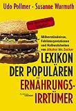 Lexikon der populären Ernährungsirrtümer