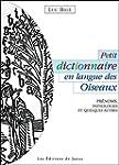 Petit dictionnaire en langue des Oise...