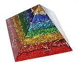 オルゴナイト チャクラピラミッド 90x65mm