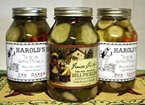 3-pack Dill 1 Each Frances Harold 2x Harold 4x 3- 32oz Quarts from Conscious Choice Foods