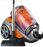 Designer Habitat – 2400W 4Ltr Bagless Cyclonic Cylinder Vacuum Cleaner + Attachments