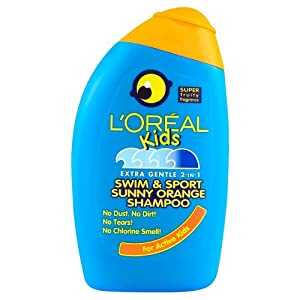 L'Oreal Kids Shampoo Swim & Sport 250ml (Pack of 2)