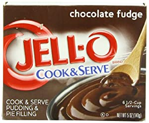 jell o cook amp serve pudding amp pie filling chocolate fudge 5 ounce