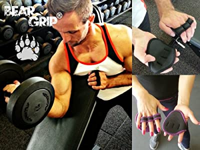 Bear Grip® (Neoprene) - Hygienic alternative to weight lifting gym gloves by Bear Grip