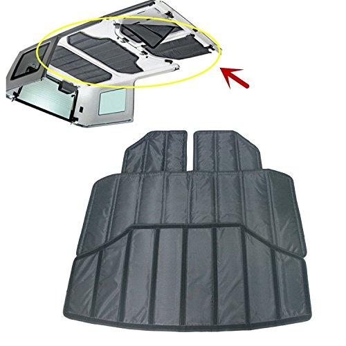 Jeep Wrangler JK Unlimited Hardtop Sound Deadener and Insulation Kit