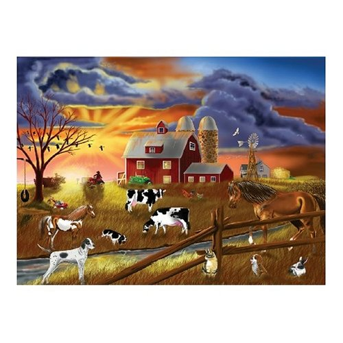 Rustic Dusk Jigsaw Puzzle