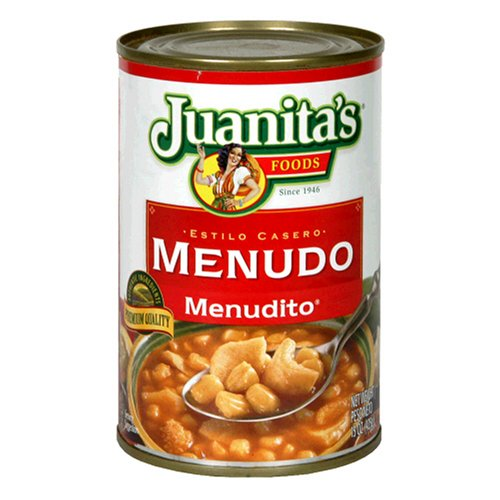 Juanita's Foods Menudo, 15-Ounce Cans (Pack of 12) (Canned Menudo compare prices)