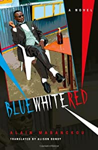 Alain Mabanckou Blue White Red