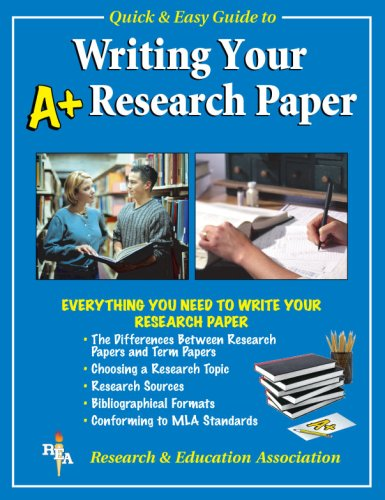 guide for writing research papers