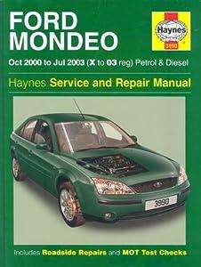 Ford Mondeo Mk3 Workshop Manual Pdf
