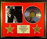 THE ROLLING STONES/CD DISPLAY/LIMITED EDITION/COA/STICKY FINGERS