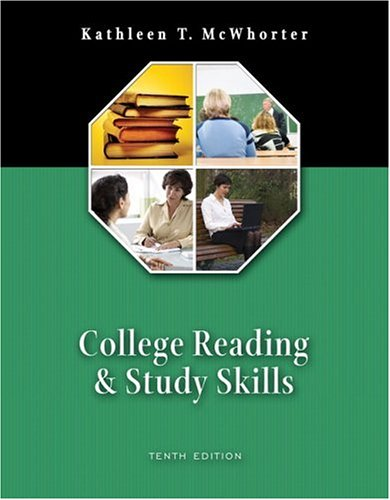 College Reading and Study Skills (book alone) (10th Edition)