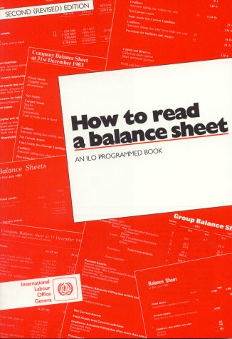How to Read a Balance Sheet: An Ilo Programmed Book (Ilo354)