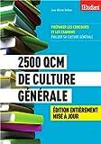 echange, troc Jean-michel Oullion - 2500 QCM de culture générale
