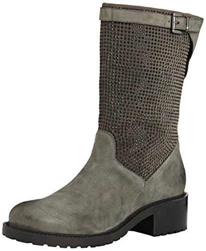 SPM Folli 3/4 Boot, Stivali classici imbottiti a mezza gamba donna, Grigio (Grau (Dk Grey 006/Dk Grey 006)), 37