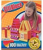 CitiBlocs 100-Piece Hot-Colored Building Blocks