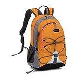 Sunsbell School Bag Toys Bag Kindergarten Boys Girls Nylon Backpack (Orange)