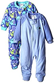 Gerber Baby-Girls Newborn 2 Pack Blan…