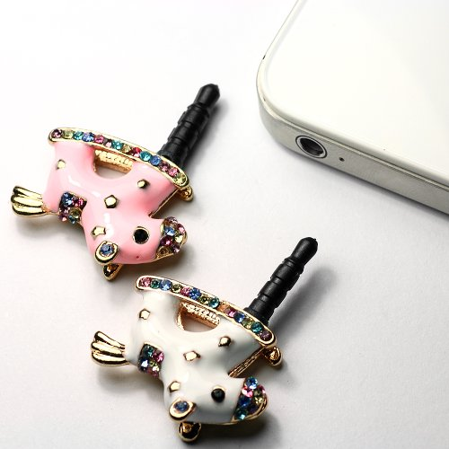 2xPink/Weiss Strass-Pferd mit Diamants Staubdichter Kopfhörer Stecker Ohrhörer Stöpsel für for HTC One, iPhone 3 3GS 4 4S 5, iPad 1 2 3 4 mini, Samsung Note 2 N7100, galaxy S3 i9300, i8190, i8262D, S2 i9100, i9268, S5830, i9000, Samsung Galaxy S4 i9500, i8262D i9268 HTC G18 Sensation XE, GALAXY Ace2, LG Nexus 4HTC one X, TC X920e Hamburg Germany