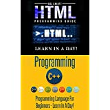 C++ Programming: HTML Programming