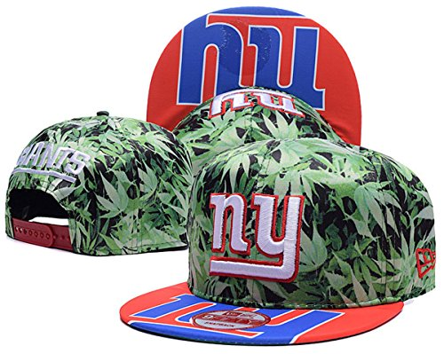 new-york-giants-unisex-snapback-hat-adjustable-football-cap-green-one-size