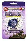 Grenades, Explosively Intense Sugar Free Chewing Gum with Xylitol, 30 Pieces (Grape Bomb)